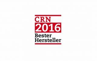 CRN 2016 Bester Hersteller