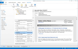 Outlook Ansicht