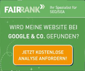 Fairrank Analyse